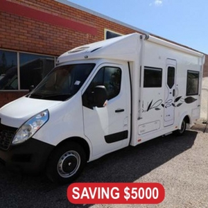 New Sunliner Sage SG402 Motorhome 21ft – $129,990 Drive Away