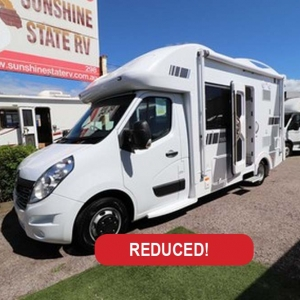 New Sunliner Pinto 411 Motorhome 22ft – $144,990 Drive Away