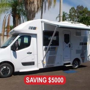New Sunliner Pinto 411 Motorhome – $144,990 Drive Away