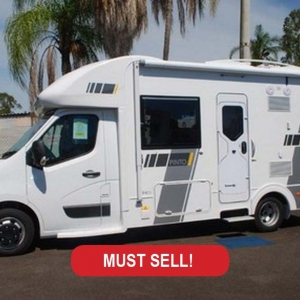 New Sunliner Pinto 411 Motorhome – $144,990 Drive Away