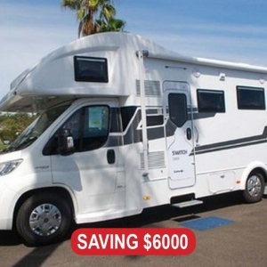 NEW 2019 Sunliner Switch 494 Motorhome – $169,990 Drive Away