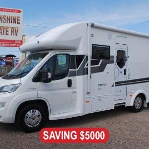 2019 Sunliner Switch 491 Motorhome – $149,990 Drive Away