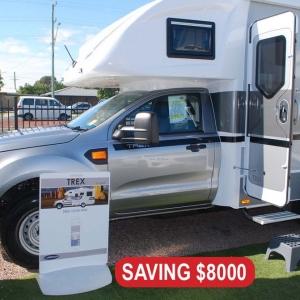 New Sunliner Trex 4×4 Motorhome – $141,990 Drive away