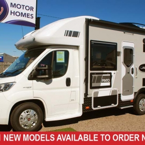 Sunliner Pinto 412 Fiat S7 160HP Motorhome –  From $148,990+orc