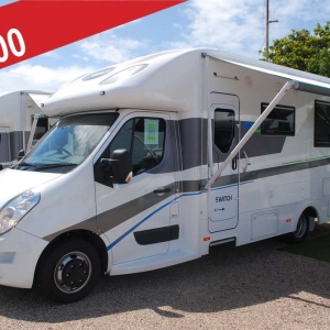 New Sunliner Switch 441 Motorhome – $129,990 Drive Away