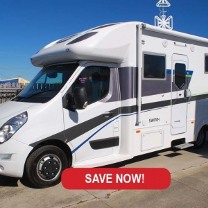 New Sunliner Switch 442 Motorhome – $ 129,990 Drive Away
