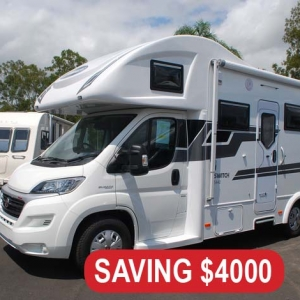 New Sunliner Switch 442 Motorhome – $139,990 Drive Away