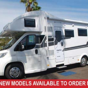 Sunliner Switch 494 Fiat S7 160HP Motorhome –  From $163,990+orc
