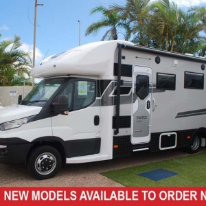 Sunliner Switch 494G  Fiat S7 160HP Motorhome –  From $170,990+orc