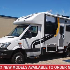 Sunliner Habitat 4 – Mercedes Benz 519 AWD Motorhome –  From $224,990+orc