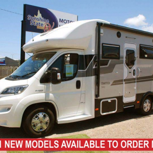 Sunliner Switch 442 Motorhome – from $134,990+orc