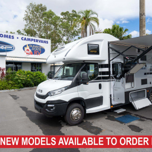 Sunliner Navian 601 – Iveco Daily 210HP 8sp AUTO Motorhome – from $231,990+orc